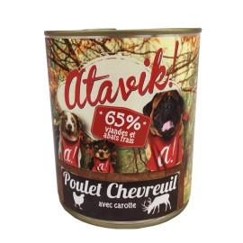 Patée Poulet Chevreuil 800 g