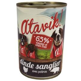 Patée Dinde Sanglier 400g